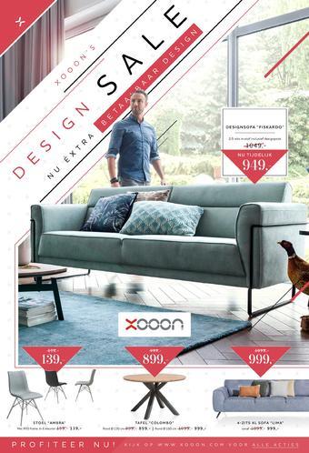 Xooon reclame folder (geldig t/m 01-09)