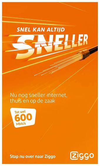 Ziggo reclame folder (geldig t/m 02-06)
