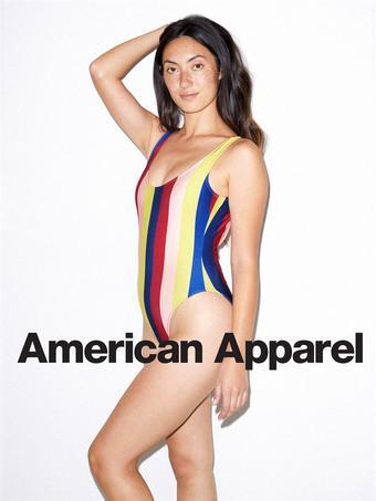 American Apparel reclame folder (geldig t/m 15-09)