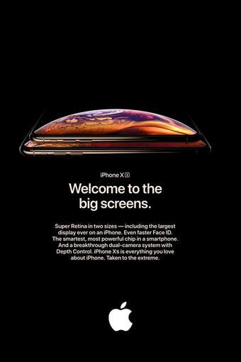 Apple reclame folder (geldig t/m 13-01)
