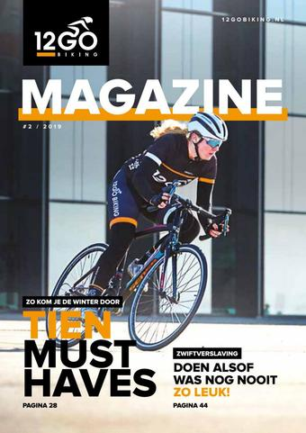 12GO Biking reclame folder (geldig t/m 31-10)