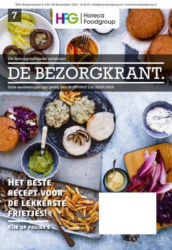Horeca Food Group reclame folder (geldig t/m 20-07)