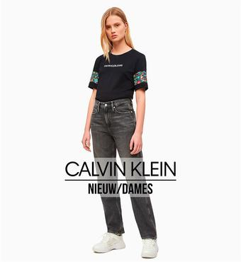 Calvin Klein reclame folder (geldig t/m 26-06)