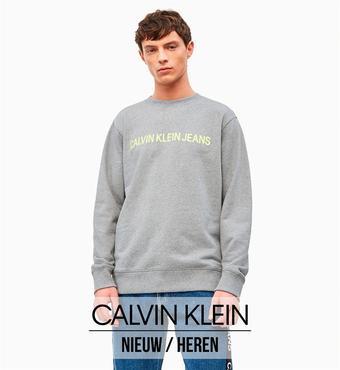 Calvin Klein reclame folder (geldig t/m 27-08)