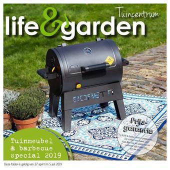 Life & Garden reclame folder (geldig t/m 05-07)
