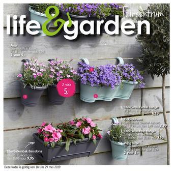 Life & Garden reclame folder (geldig t/m 29-05)