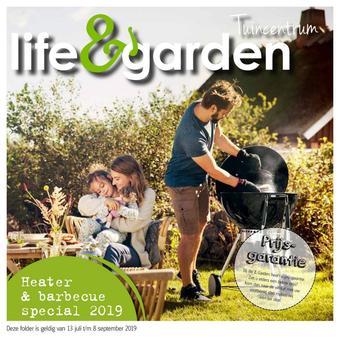 Life & Garden reclame folder (geldig t/m 08-09)