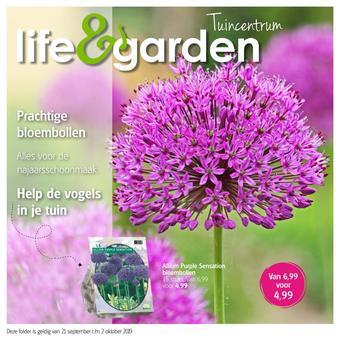 Life & Garden reclame folder (geldig t/m 02-10)