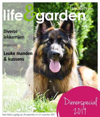 Life & Garden reclame folder (geldig t/m 23-11)
