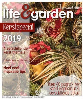 Life & Garden reclame folder (geldig t/m 24-12)