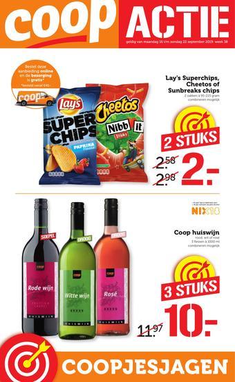 Supercoop reclame folder (geldig t/m 22-09)