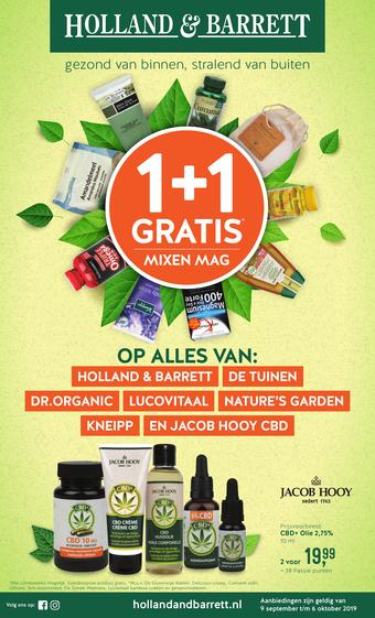 Holland & Barrett reclame folder (geldig t/m 06-10)