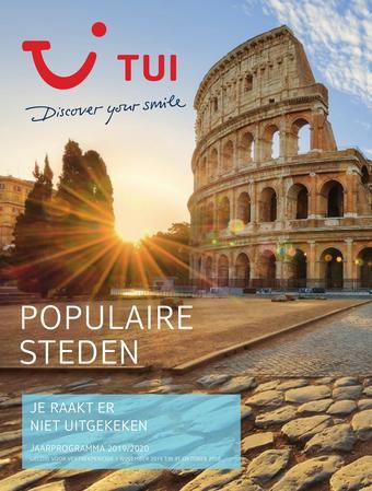 TUI reclame folder (geldig t/m 31-10)