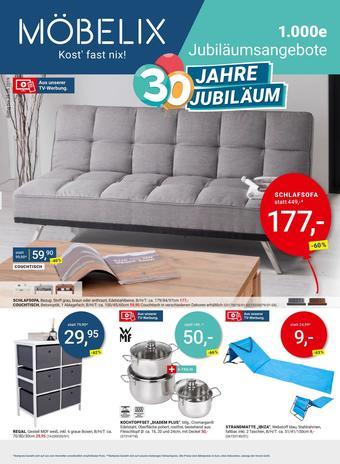 Möbelix Werbeflugblatt (bis einschl. 25-05)