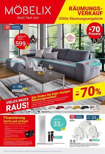 Möbelix Werbeflugblatt (bis einschl. 16-07)