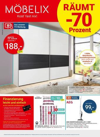 Möbelix Werbeflugblatt (bis einschl. 23-07)