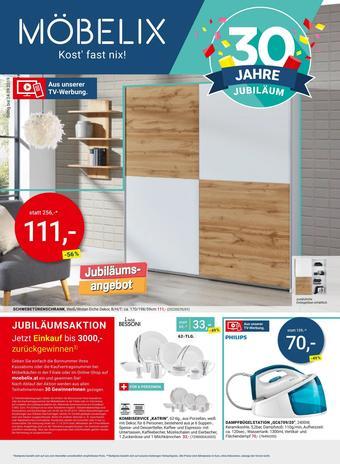 Möbelix Werbeflugblatt (bis einschl. 24-09)