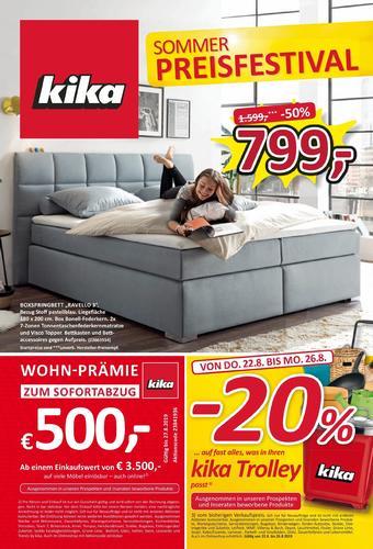kika Werbeflugblatt (bis einschl. 27-08)