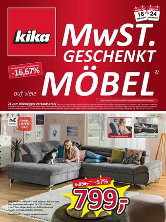 kika Werbeflugblatt (bis einschl. 29-09)