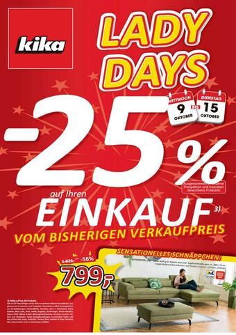 kika Werbeflugblatt (bis einschl. 15-10)