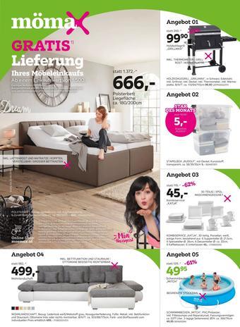 Mömax Werbeflugblatt (bis einschl. 22-06)