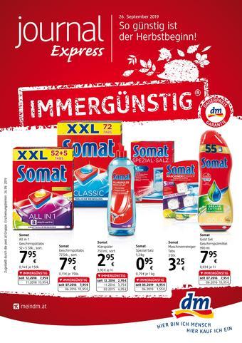 dm Werbeflugblatt (bis einschl. 30-10)