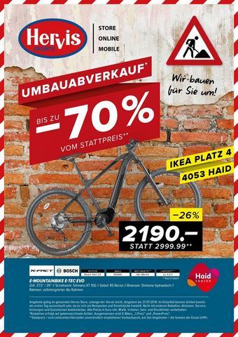 Hervis Werbeflugblatt (bis einschl. 27-07)