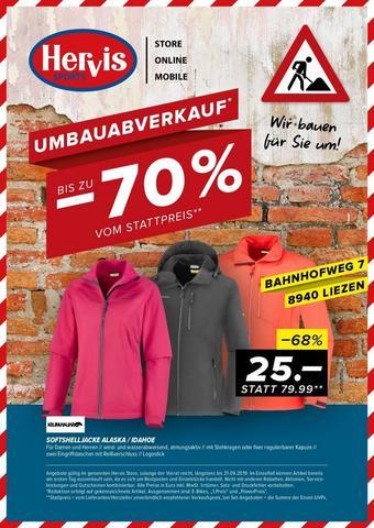 Hervis Werbeflugblatt (bis einschl. 21-09)