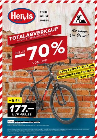 Hervis Werbeflugblatt (bis einschl. 19-10)