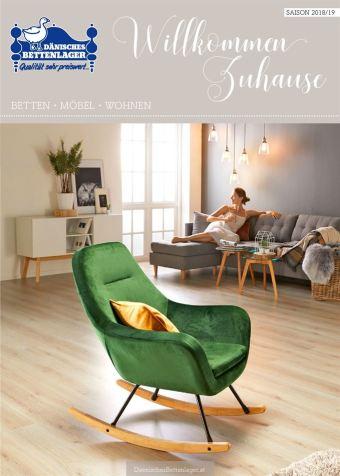 Dänisches Bettenlager Werbeflugblatt (bis einschl. 31-08)