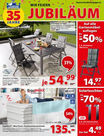 Dänisches Bettenlager Werbeflugblatt (bis einschl. 25-05)