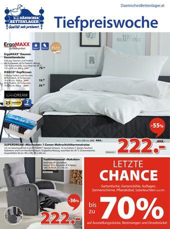 Dänisches Bettenlager Werbeflugblatt (bis einschl. 29-09)