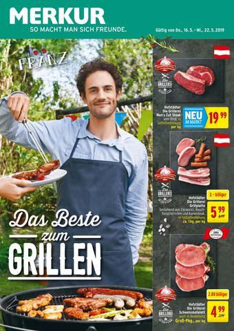 MERKUR Markt Werbeflugblatt (bis einschl. 22-05)