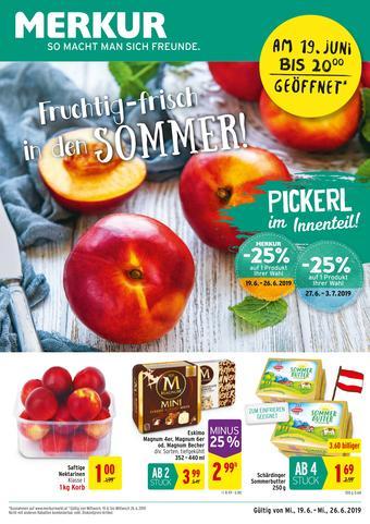MERKUR Markt Werbeflugblatt (bis einschl. 26-06)