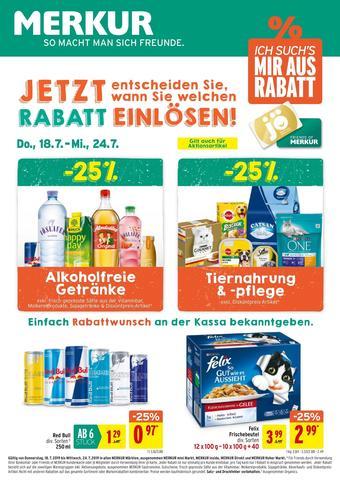 MERKUR Markt Werbeflugblatt (bis einschl. 24-07)
