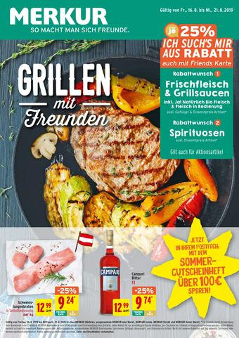 MERKUR Markt Werbeflugblatt (bis einschl. 21-08)