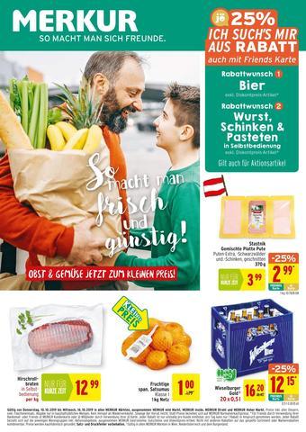 MERKUR Markt Werbeflugblatt (bis einschl. 16-10)