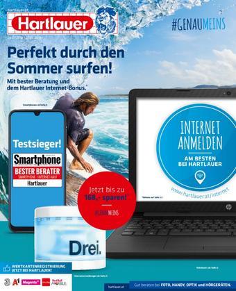 Hartlauer Werbeflugblatt (bis einschl. 27-08)
