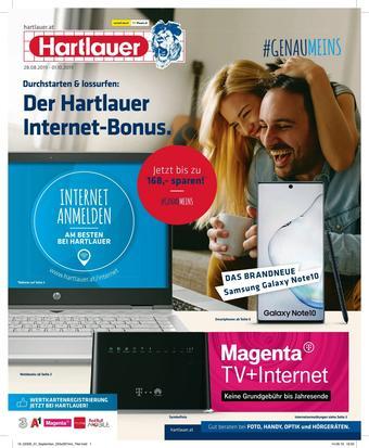 Hartlauer Werbeflugblatt (bis einschl. 30-09)