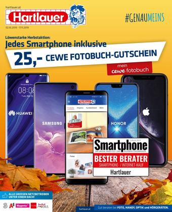 Hartlauer Werbeflugblatt (bis einschl. 16-11)