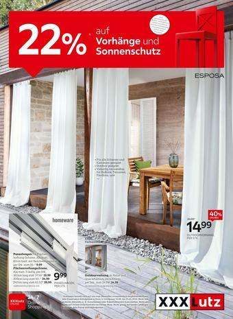 XXXLutz Werbeflugblatt (bis einschl. 25-05)