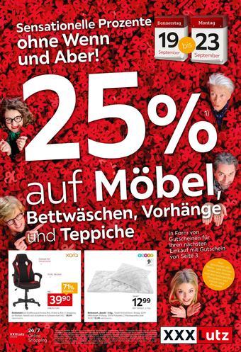 XXXLutz Werbeflugblatt (bis einschl. 23-09)