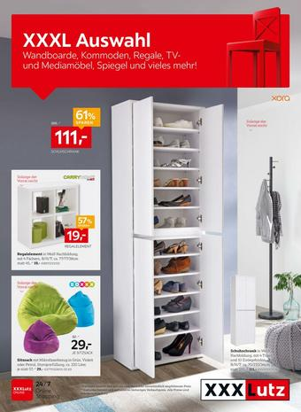XXXLutz Werbeflugblatt (bis einschl. 21-09)