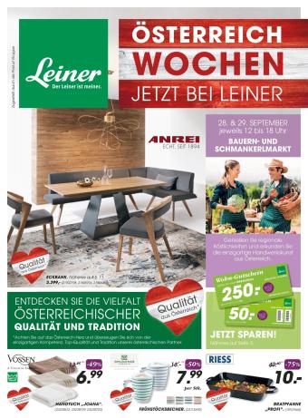 Leiner Werbeflugblatt (bis einschl. 15-10)