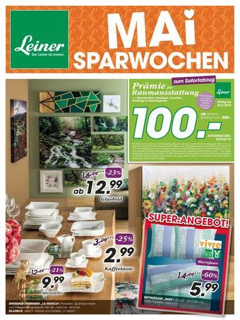 Leiner Werbeflugblatt (bis einschl. 25-05)