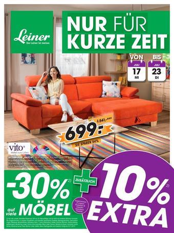 Leiner Werbeflugblatt (bis einschl. 23-07)