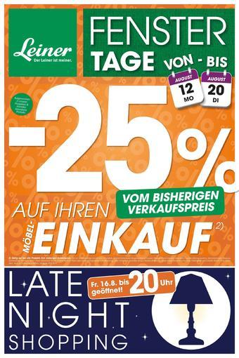 Leiner Werbeflugblatt (bis einschl. 20-08)