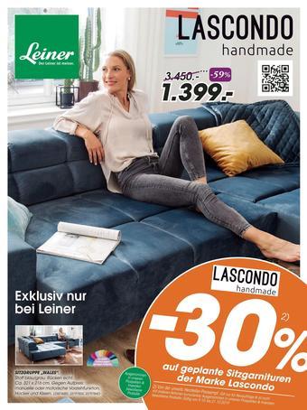 Leiner Werbeflugblatt (bis einschl. 21-10)
