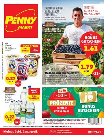 PENNY Werbeflugblatt (bis einschl. 17-07)