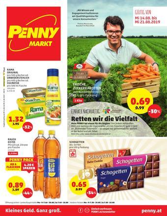 PENNY Werbeflugblatt (bis einschl. 21-08)